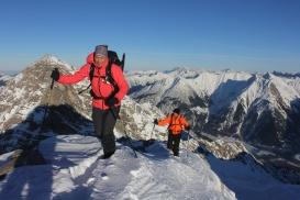 Die letzten Meter auf die Bretterspitze / Allgäuer Alpen
