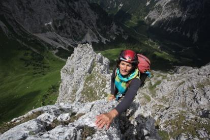 Kletterspaß am Westgrat der Gehrenspitze / Tannheimer Bege