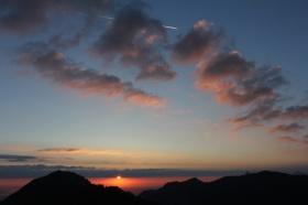 Sonnenaufgang am Feichteck /Chiemgauer Alpen