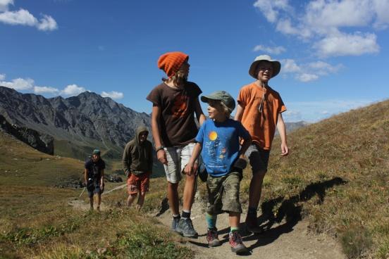 Familientour zum Pic de Caramantran / Cottische Alpen