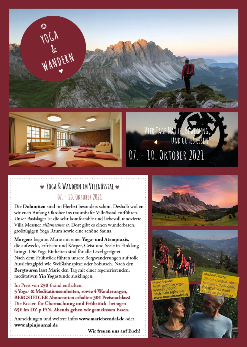 RetreatVilla Messner Flyer Druck